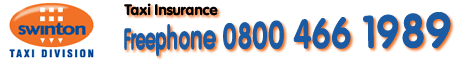Call Swinton for Taxi insurance quotes